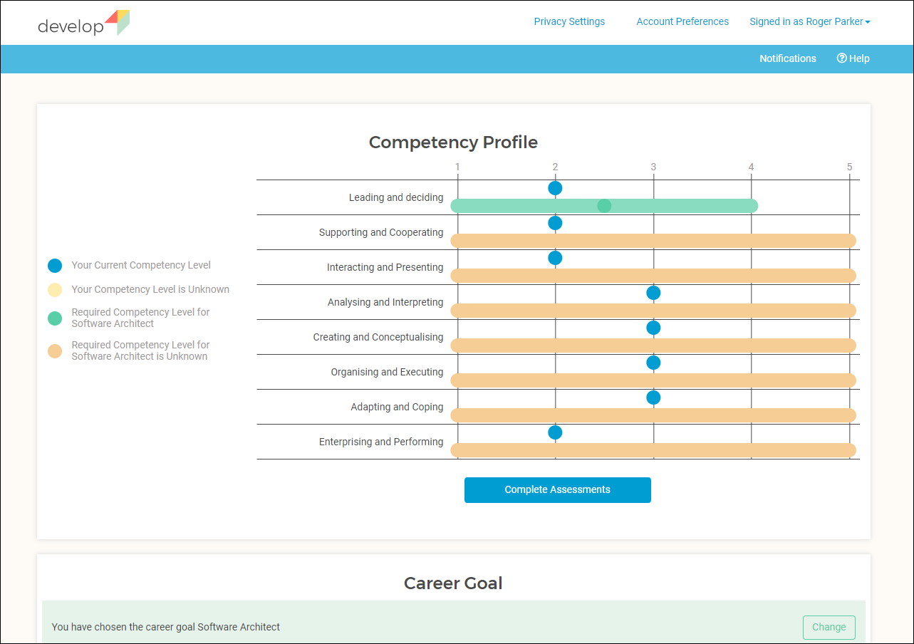 Updated Competency Profile
